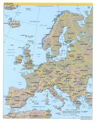 Map Of Europe Countries Maps Map Of Europe With Countries