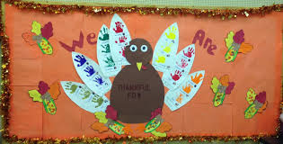 happy thanksgiving family and friends michelle u0027s chickadees our thanksgiving bulletin board