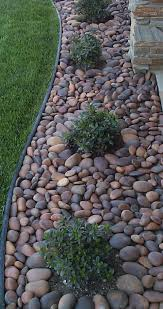 decorative landscaping rocks best 25 river rock ideas on pinterest