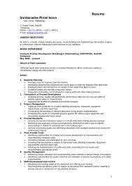 Resume Sle For materials engineerme sle metallurgical exles plant