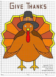 thanksgiving plotting point worksheets happy thanksgiving