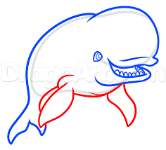 how to draw bailey from finding dory step by step disney