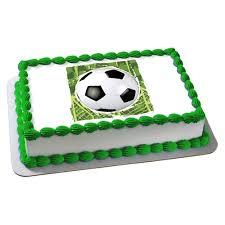 soccer cake soccer edible image cake decoration