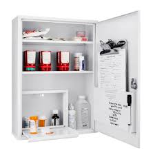 Vio Bathroom Furniture by Large Medical Cabinet By Barska