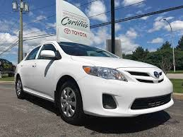 toyota in used 2013 toyota corolla ce in gatineau used inventory villa