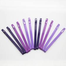 wide bobby pins 12 pcs set wide gradient purple bobby pins 6 5cm large metal hair