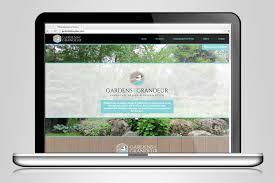 gardens of grandeur graphic design u0026 website design by ben