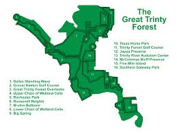 Dallas Map Program by What Is The Great Trinity Forest U2013 Dfw Urban Wildlife