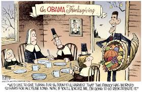 on obama thanksgiving picture