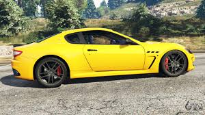 maserati yellow maserati granturismo mc stradale for gta 5