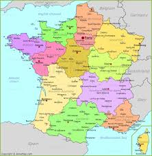 Brittany France Map France Map Map Of France Annamap Com