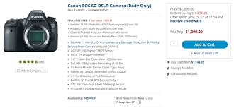canon eos 6d black friday top blackfriday deals for filmmakers on all budgets 4k shooters