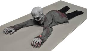 animated crawling zombie decorations u0026 props