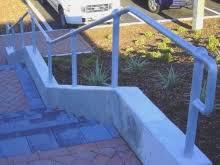 Galvanised Handrail Exterior Handrail Fabricator Christchurch