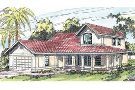 spanish style houses spanish style house plans kendall 11 092 associated designs
