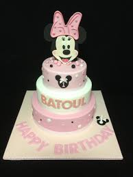 51 best cakes images on pinterest minnie mouse 1st birthday