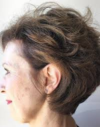 pictures of over the ear hair styles soft tousled waves hairstyles for women over 50 older women s
