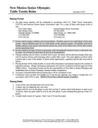 table tennis doubles rules olympic table tennis doubles rules edit fill out top online