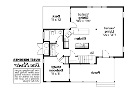 Floor 51 by Contemporary House Plans Riverview 51 003 Associated Designs