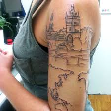 38 more travel related tattoos from backpackers globetrotters