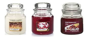 my favourite yankee candles for and winter