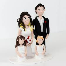 family cake toppers wedding cake topper 2