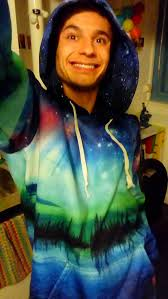 Northern Lights Pullover Hoodie Into The Am