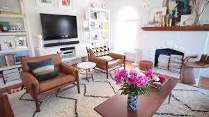 Average Length Of Couch by Tips To Choosing The Right Rug Size Emily Henderson