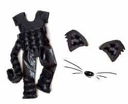 Cat Halloween Costumes Kids Quick Handmade Halloween Costumes U2013 Toddler Girls Black Cat