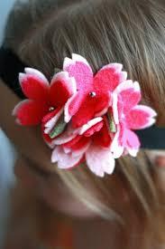 felt flower headband felt flower headband everyday