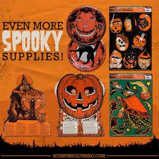 spook up your home with vintage halloween style sourpuss