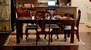 no rug under dining room table barclaydouglas