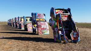 cadillac ranch carolina list item the cadillac ranch kernut the blond