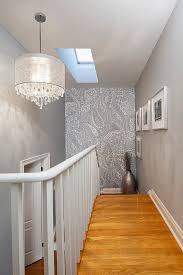Ideas To Decorate Staircase Wall 16 Fabulous Ideas That Bring Wallpaper To The Stairway