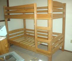 Wood Loft Bed With Desk Plans by Twin Over Full Bunk Bed Plans Large Size Of Bunk Bedsplans To