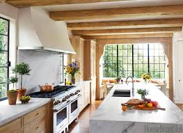 Soothing Dutch Inspired Kitchen Design With Blowing Kitchen
