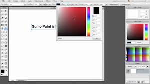 text tool in sumo paint youtube