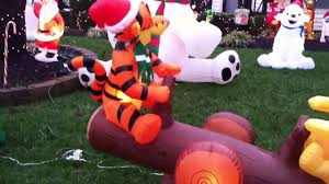pooh and tigger teeter totter inflatable youtube