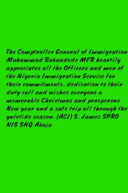 Sho Acl nigeria immigration on