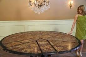 round dining room table seats 12 foter