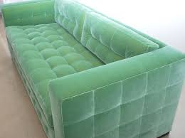 Tufted Vintage Sofa by Living Room Furniture Old And Vintage Yellow Velvet Tufted Sofa