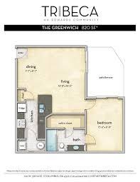 tribeca u2013 floor plans