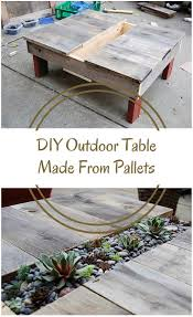 Outdoor Side Table Ideas by 75 Best Images About Green Diy On Pinterest Diy Outdoor Table