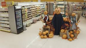 spirit halloween displays tesco halloween introducing spookermarket youtube