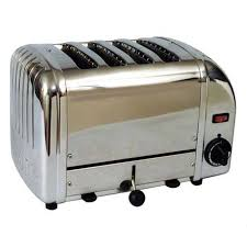 Dualit Stainless Steel Toaster A J Antunes Roundup Vct 25 Vertical Contact Bun Bread Toaster