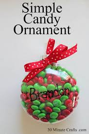 simple ornament 30 minute crafts