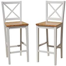 30 Inch Bar Stool With Back Amazon Com Tms 30 Inch Virginia Cross Back Stools Set Of 2