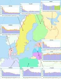 Baltic Sea Map Atmospheric Emissions Of Heavy Metals In The Baltic Sea Region