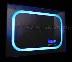 bathroom cabinets audio image illuminated bathroom radio mirror