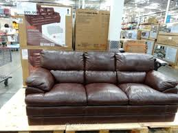 Costco Sofa Leather Costco Leather Reclining Sofa Leather Sofa Intended For